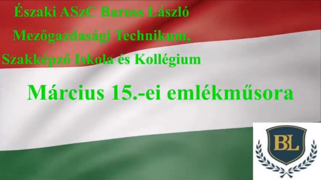 Read more about the article Emlékműsor – márc. 15.