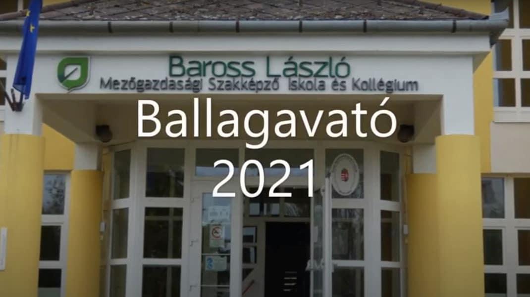 Ballagavató 2021